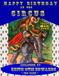 Cover art for 1st Alto Saxophone part from Happy Birthday at the Circus