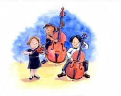 Cover art for 3 & 1/4 Classic Favourites for String Orchestra!