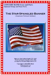 Cover art for Clarinet 3 in B^b part from The Star-Spangled Banner (American National Anthem) Concert Band