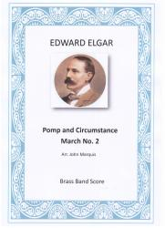 Cover art for 2nd Horn part from Pomp and Circumstance March No. 2
