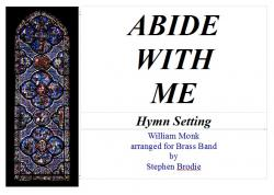 Cover art for Solo Horn part from Abide With Me