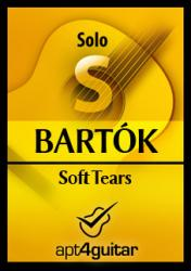 Cover art for Soft Tears for solo guitar