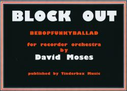 Cover art for Bass Recorder 1 part from BLOCK OUT