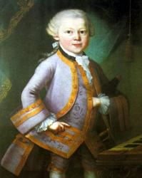 Cover art for Piano part from Adoramus te (Mozart)