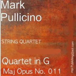 Cover art for Violin II part from Pullicino Mark -String Quartet Opus 011 in G Maj