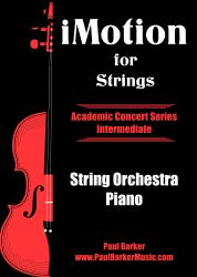 Cover art for Piano part from iMotion for Strings