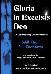 Cover art for Viola part from Gloria in Excelsis Deo (SAB Choir and Full Orchestra)