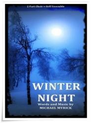 Cover art for Recorder/ Descant, Soprano, Alto part from Winter   Night