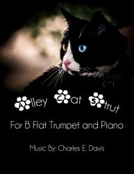 Cover art for Alley Cat Strut - Bb Trumpet and Piano