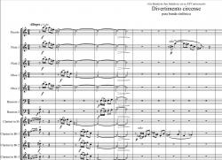 Cover art for Trombone 1 part from Divertimento circense