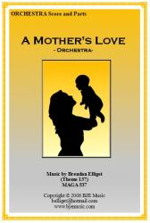 Cover art for Horn 2 in F part from A Mother's Love (Theme 137) - Orchestra