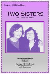Cover art for Glockenspiel part from Two Sisters  (For Lorraine and Glenys) - Orchestra