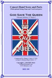 Cover art for Trumpet 1 in B^b part from God Save The Queen National Anthem [ F Major ]