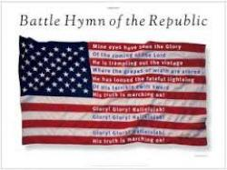 Cover art for Battle Hymn of the Republic ''Mine Eyes Have Seen the Glory'' for Clarinet Quintet