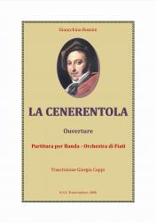 Cover art for Sax Baritono part from La Cenerentola - Ouverture -Rossini