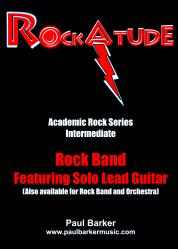 Cover art for Electric Guitar Lead part from RockAtude (Rock Band Version) Featuring Solo Lead Guitar