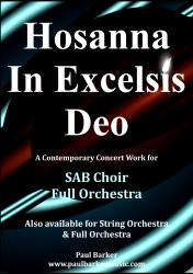 Cover art for Flute part from Hosanna In Excelsis Deo  (SAB Choir and Full Orchestra)