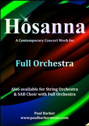 Cover art for Violoncello part from Hosanna (Full Orchestra)