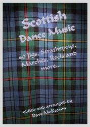 Cover art for Traditional Scottish Dance Music, CGDA tab for Banjo, 40 Jigs, Strathspeys and more...