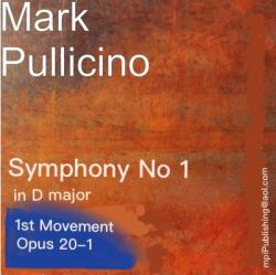Cover art for Pullicino, Mark Symphony No1 in D major, 1st Movement