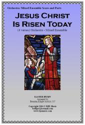 Cover art for Viola part from Jesus Christ Is Risen Today (Easter Hymn) -  Mixed Ensemble