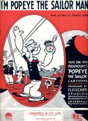 Cover art for Popeye The Sailor Man