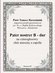Cover art for Bass part from Pater noster B - dur
