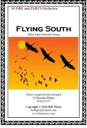 Cover art for Strings (Keyboard Reduction) part from Flying South - Oboe Solo with Orchestra