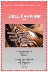 Cover art for Horn 1 in F part from Bell Fanfare  (Short) - Brass Group, Tubular Bells, Organ and Percussion
