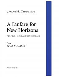 Cover art for 4. A Fanfare for New Horizons - Oboe part from A Fanfare for New Horizons - for Four Horns and Concert Band - Full Score and Parts