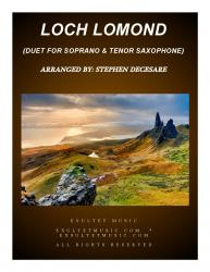 Cover art for llstspart part from Loch Lomond (Duet for Soprano and Tenor Saxophone)