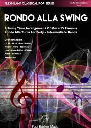 Cover art for Part 1 Eb part from Rondo Alla Swing (Flexi-Band Classical Pop Series)
