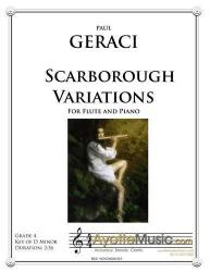 Cover art for Geraci - Scarborough Variations