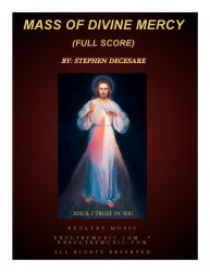 Cover art for Mass of Divine Mercy (Full Score)