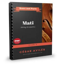 Cover art for Mati --all Parts part from Mati - String Orchestra