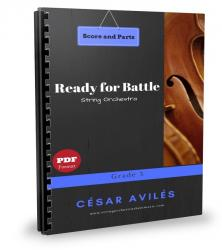 Cover art for Ready-for-Battle-All Parts part from Ready for Battle - String Orchestra