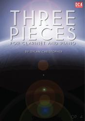 Cover art for Three Pieces, Op. 4
