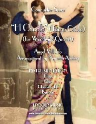 Cover art for Flute part from El Choclo (for Woodwind Quartet)