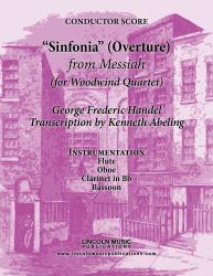 "Cover art for Bassoon part from Handel - Overture ""Sinfonia"" from Messiah (for Woodwind Quartet)"