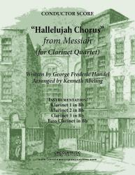 Cover art for Handel - The Hallelujah Chorus - from Messiah (for Clarinet Quartet)