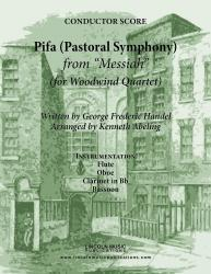 Cover art for Flute part from Handel - Pifa (Pastoral Symphony) - from Messiah (for Woodwind Quartet)