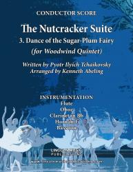 Cover art for Clarinet in Bb part from The Nutcracker - 3. Dance of the Sugar-Plum Fairy (for Woodwind Quintet)