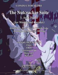Cover art for Oboe part from The Nutcracker - 5. Arab Dance (for Woodwind Quintet)
