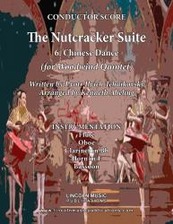 Cover art for Oboe part from The Nutcracker - 6. Chinese Dance (for Woodwind Quintet)