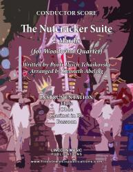 Cover art for Flute part from The Nutcracker - 2. Marche (for Woodwind Quartet)