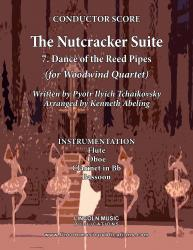 Cover art for Flute part from The Nutcracker  - 7. Dance of the Reed Pipes (for Woodwind Quartet)