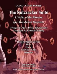 Cover art for Clarinet in Bb part from The Nutcracker - 8. Waltz of the Flowers (for Woodwind Quartet)