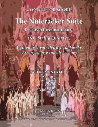 Cover art for Viola part from The Nutcracker - 1. Miniature Overture (for String Quartet)