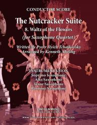 Cover art for Soprano Saxophone part from The Nutcracker - 8. Waltz of the Flowers (for Saxophone Quartet SATB)