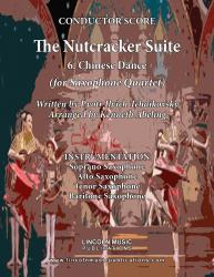 Cover art for Tenor Saxophone part from The Nutcracker - 6. Chinese Dance (for Saxophone Quartet SATB)